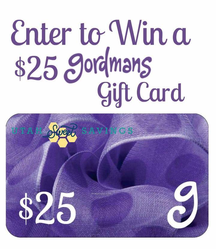 Gordmans Gift Card Giveaway