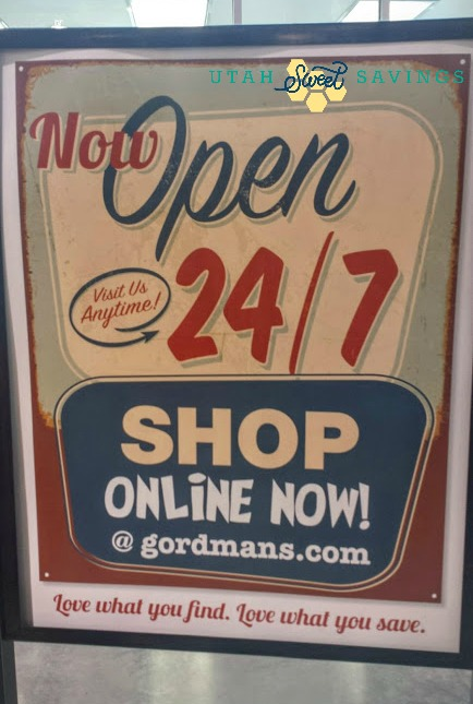 Gordmans online