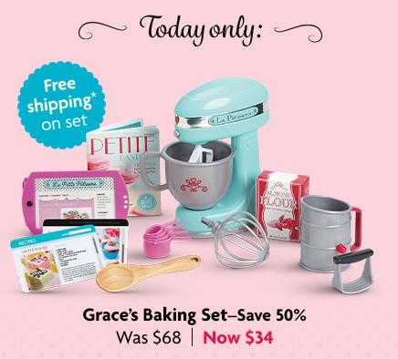 Graces baking set