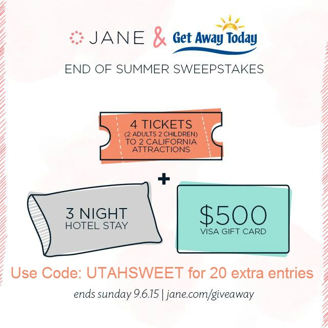 Jane Giveaway