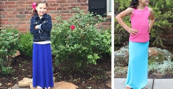 Kid's Maxi Skirts