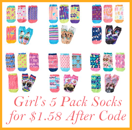 Kohls Girls Socks