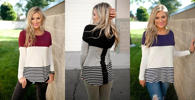 Must Have Color Blocked Top