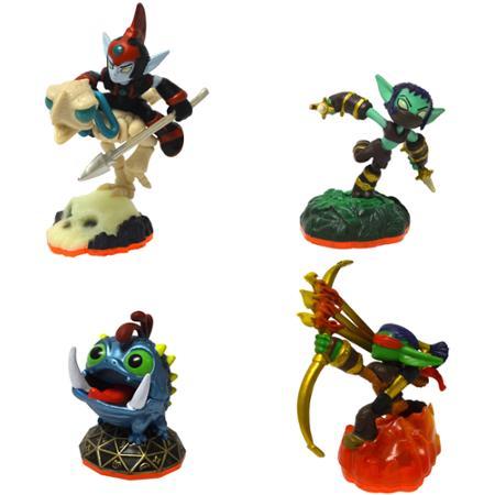 Skylanders 4 Character Figure Bundle