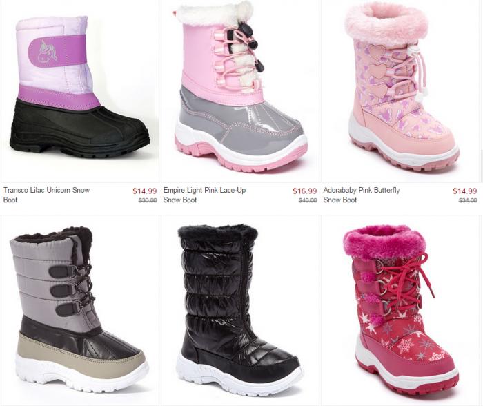 Snow Boot Sale