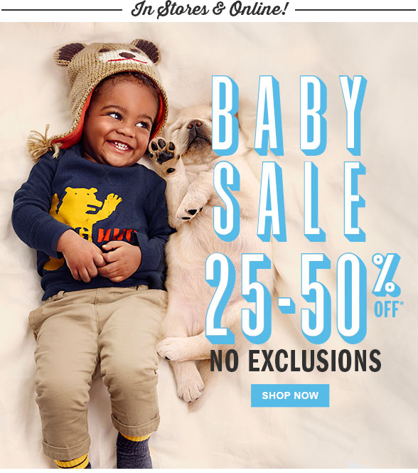baby sale tcp