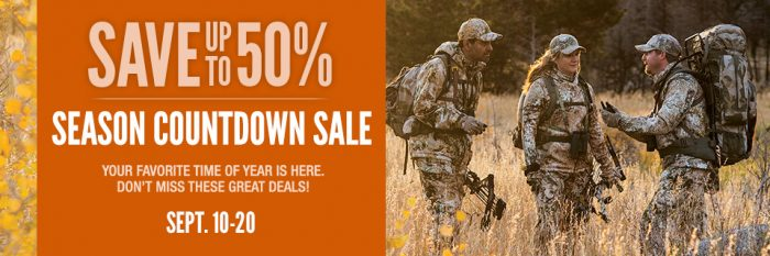 cabelas countdown sale
