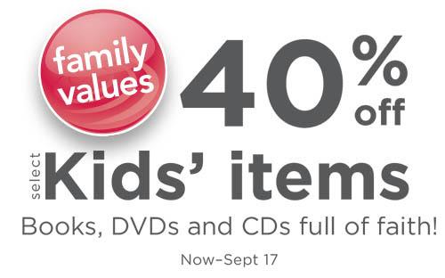 family christian kids items