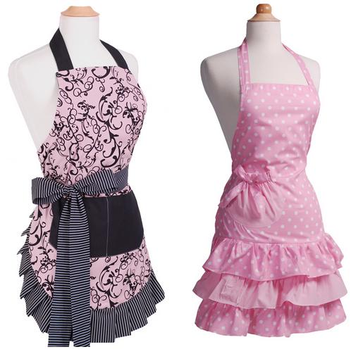 flirty aprons pink