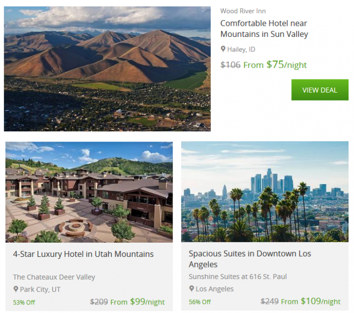 getaway deals