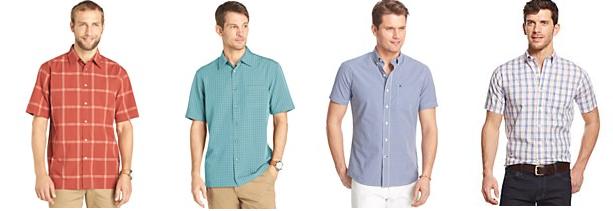 izod and van heusen shirts