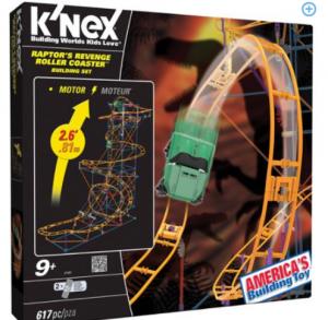 k'nex roller coaster set