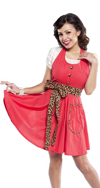 lindy leopard apron flirty aprons