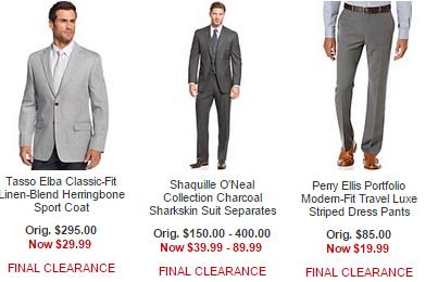 macys mens dress suits and pants