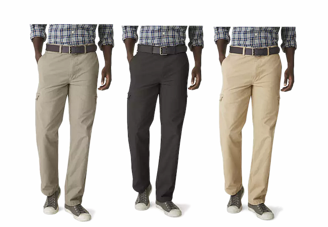 0e9f6367 Check out this deal on Men's Dockers Crossover D3 Classic-Fit Flat-Front Cargo  Pants. Choose from five classic colors.