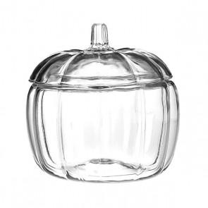pumpkin glass jar