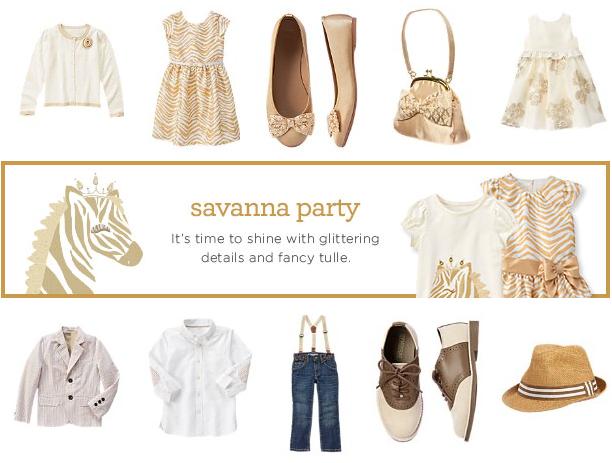 savanna party gymboree