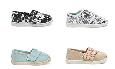 youth toms shoes