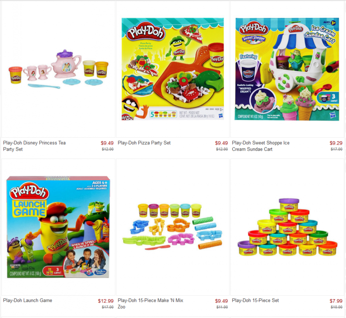 zulily play doh sale