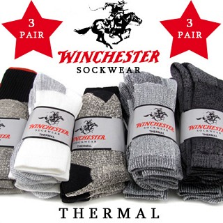 3 Pairs - Winchester Thermal Socks