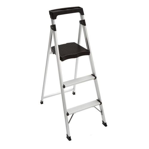 3-Step Aluminum Ultra-Light Step Stool Ladder