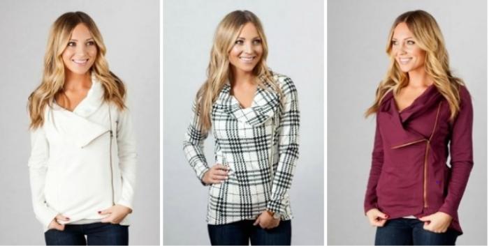 Asymmetrical Zipper Sweater!
