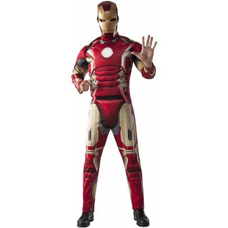 Avengers Ironman Fiber Fill Chest Mens Adult Halloween Costume