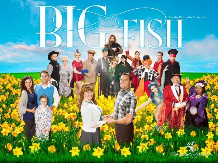 Big fish cast