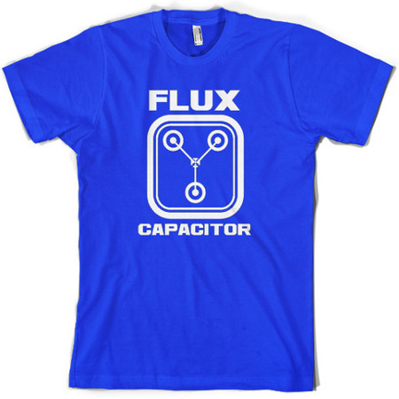 Flux Capacitor - Back to The Future - T-Shirt