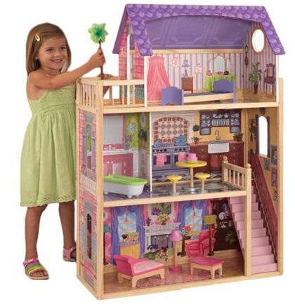 KidKraft Kayla Dollhouse 10 Pieces of Furniture