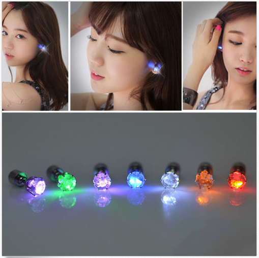 LED Light Up Bright Earring