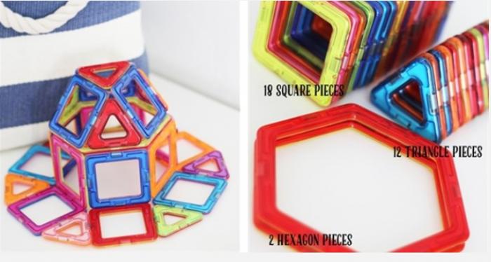 Magnetic Building Toys! 32 Piece set