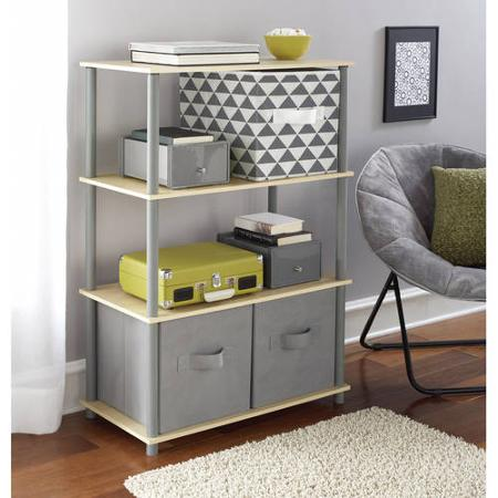 Mainstays No Tools 6-Cube Storage Shelf & Mainstays No Tools 6-Cube Storage Shelf for $15! u2013 Utah Sweet Savings