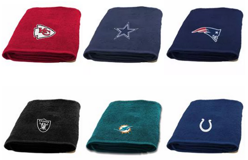 NFL Applique Bath Towels