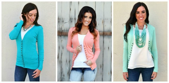 Perfect Button Cardigan