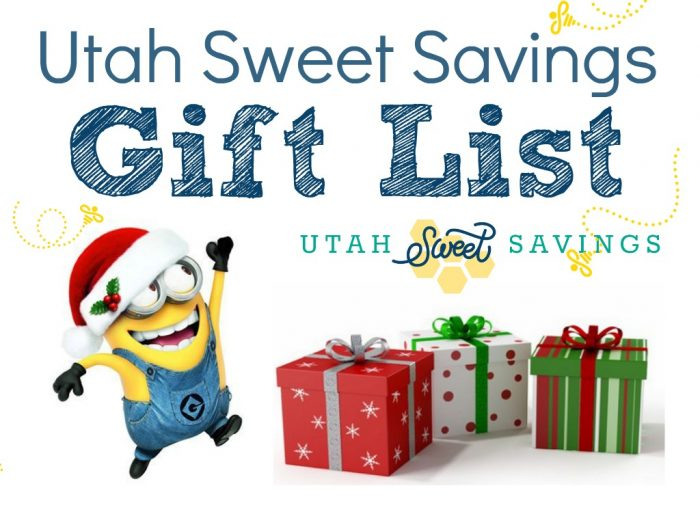Utah Sweet Savings Gift List