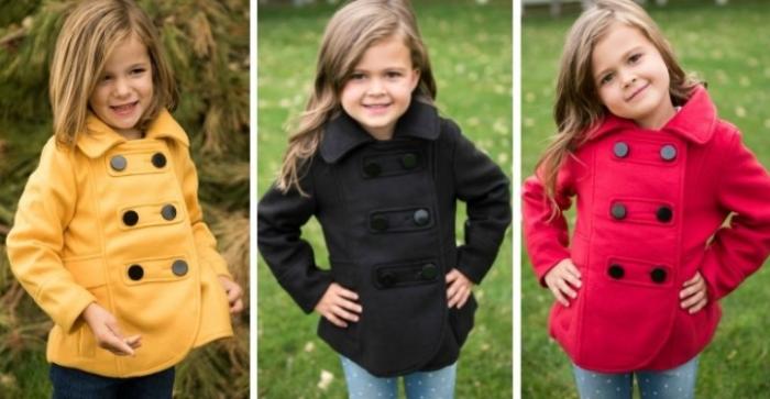childrens pea coat