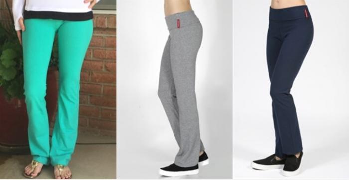 colored yoga pants