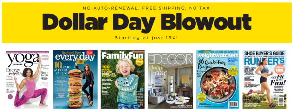 discountmags collar days blowout