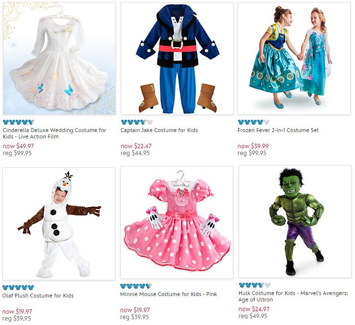 disneystore costumes