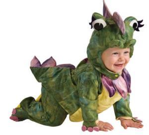 dragon costume infant