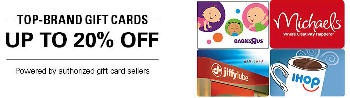 44d74011c0 Great Deals on Gift Cards! Babies R Us
