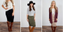 fall pencil skirts