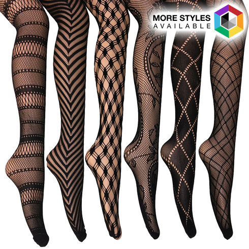 fishnet lace tights