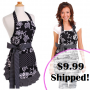 flirty aprons black