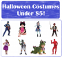 halloween costumes under $5