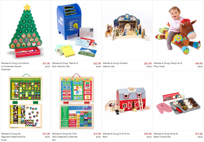 melissa and doug on zulily