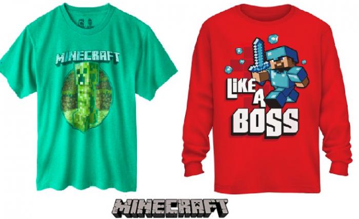 minecraft shirts