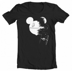 mouse star tee