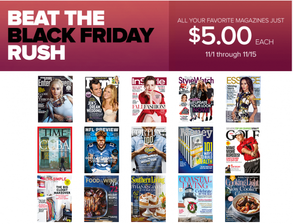 time inc $5 magazine sale deals on time sports illustrated real simple more